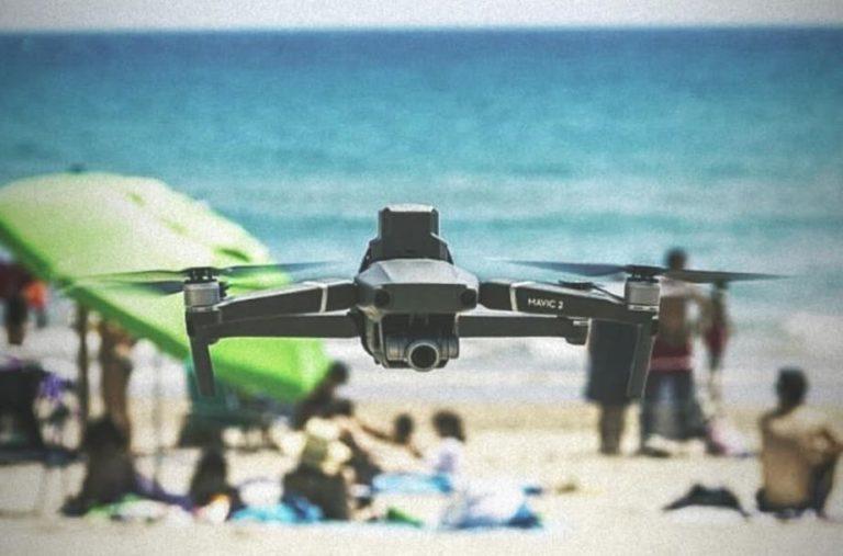 Drones sobrevolaran las playas para controlar nuestra temperatura